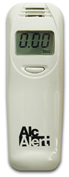 AlcAlert BT5500 Breathalyzer / personal alcohol detector for group testing