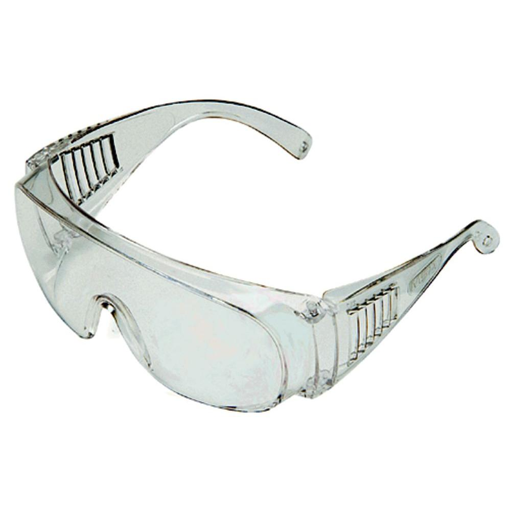 50ecd5efc19 MSA Safety Works Clear Economic Safety Glasses - ASD