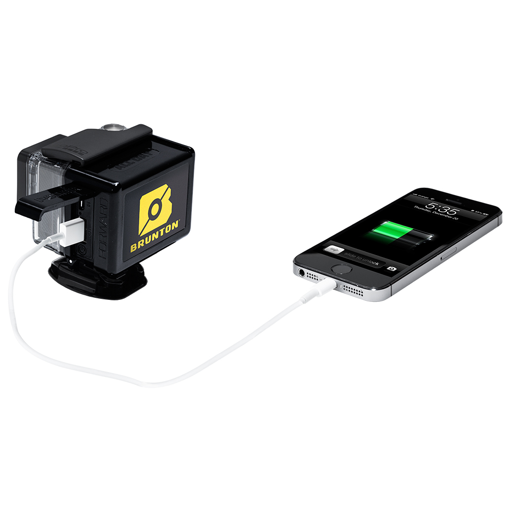 brunton allday extended battery pack for gopro hero 3 asd. Black Bedroom Furniture Sets. Home Design Ideas