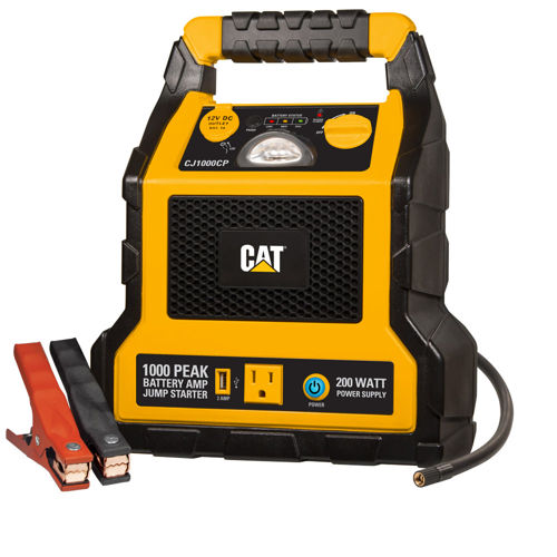 Cat Cj1000cp 1000 Peak Amp Jump Starter Power Station