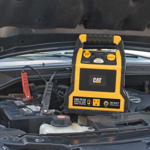 CAT CJ1000CP 1000 Peak Amp Jump Starter, Power Station, Air Compressor