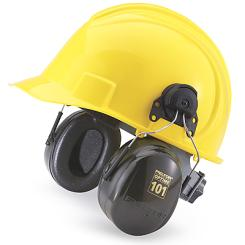 Cap-Mounted Earmuffs