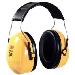 3M Optime-98 Peltor Earmuffs