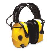 Electronic Ear Muff, 23dB, Over-the-H, Yel
