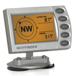 WayFinder V2020 Automobile Compass with Wireless Thermometer